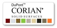 цветовая палитра камня corian