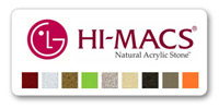 цветовая палитра камня  hi-macs ig