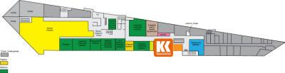 План помещений центра :: Торгово-Развлекательный Центр XL-2.